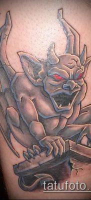Фото тату гаргулья (значение) — пример интересного рисунка тату — 018 tatufoto.com