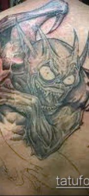 Фото тату гаргулья (значение) — пример интересного рисунка тату — 037 tatufoto.com