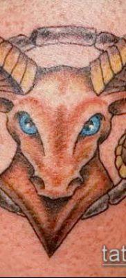 Фото тату козерог (значение) – пример интересного рисунка тату – 011 tatufoto.com