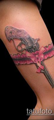 Фото тату револьвер (значение) – пример интересного рисунка тату – 019 tatufoto.com