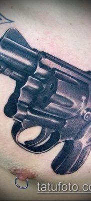 Фото тату револьвер (значение) – пример интересного рисунка тату – 027 tatufoto.com