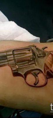 Фото тату револьвер (значение) – пример интересного рисунка тату – 031 tatufoto.com
