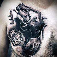 Значение тату револьвер