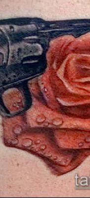 Фото тату револьвер (значение) – пример интересного рисунка тату – 050 tatufoto.com
