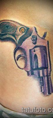 Фото тату револьвер (значение) – пример интересного рисунка тату – 052 tatufoto.com