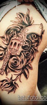Фото тату револьвер (значение) – пример интересного рисунка тату – 053 tatufoto.com