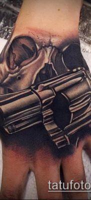 Фото тату револьвер (значение) – пример интересного рисунка тату – 054 tatufoto.com