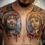 тату богородица - дева 1