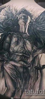 фото тату Фемида (значение) – пример интересного рисунка тату – 016 tatufoto.com