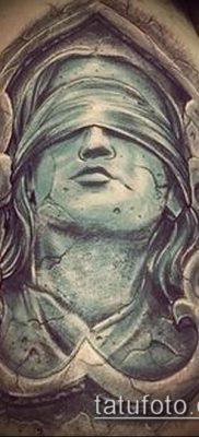 фото тату Фемида (значение) – пример интересного рисунка тату – 034 tatufoto.com