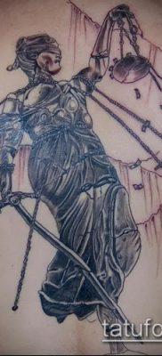 фото тату Фемида (значение) – пример интересного рисунка тату – 044 tatufoto.com