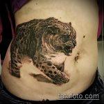фото тату барс №183 - крутой вариант рисунка, который хорошо можно использовать для доработки и нанесения как тату барса на руке