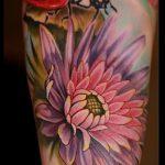 фото тату божья коровка №206 - достойный вариант рисунка, который хорошо можно использовать для преобразования и нанесения как тату божья коровка в траве