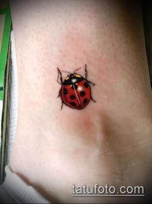 Что означает татуировка божья коровка на руке