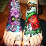 фото тату божья коровка №34 - эксклюзивный вариант рисунка, который легко можно использовать для переделки и нанесения как тату божья коровка на пальце