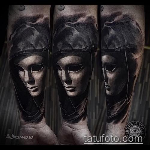 фото тату ведьма №624 - уникальный вариант рисунка, который успешно можно использовать для преобразования и нанесения как тату ведьма в короне