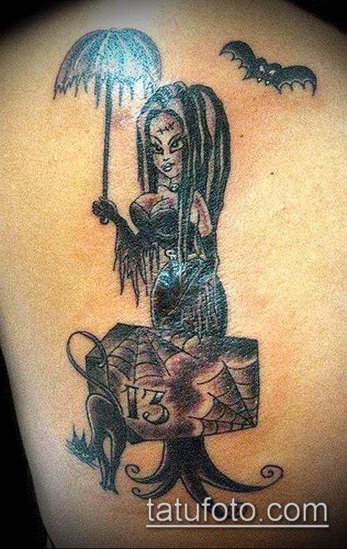 фото тату ведьма №269 - уникальный вариант рисунка, который хорошо можно использовать для переработки и нанесения как тату ведьмак