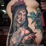 фото тату ведьма №139 - достойный вариант рисунка, который успешно можно использовать для преобразования и нанесения как тату ведьмака на руке