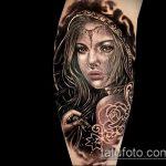 фото тату ведьма №430 - интересный вариант рисунка, который легко можно использовать для переработки и нанесения как тату ведьма на костре лес