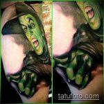 фото тату ведьма №983 - классный вариант рисунка, который хорошо можно использовать для переработки и нанесения как тату ведьмак