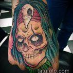 фото тату ведьма №849 - достойный вариант рисунка, который легко можно использовать для переработки и нанесения как татуировка ведьма на метле