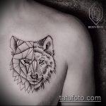 фото тату волчица №751 - классный вариант рисунка, который легко можно использовать для переработки и нанесения как тату волчица на предплечье