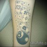 фото тату восемь №474 - интересный вариант рисунка, который успешно можно использовать для преобразования и нанесения как тату восемь на японском
