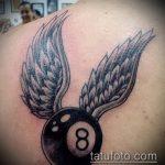 фото тату восемь №287 - классный вариант рисунка, который легко можно использовать для преобразования и нанесения как тату 8 на пальце