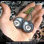 фото тату восемь №162 - эксклюзивный вариант рисунка, который удачно можно использовать для преобразования и нанесения как тату восемь восьмерок