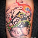 фото тату восемь №282 - классный вариант рисунка, который хорошо можно использовать для преобразования и нанесения как tattoo 8 ball meaning