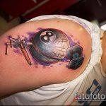 фото тату восемь №562 - достойный вариант рисунка, который хорошо можно использовать для переработки и нанесения как tattoo 8 ball
