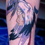 фото тату гейша №473 - эксклюзивный вариант рисунка, который успешно можно использовать для преобразования и нанесения как тату гейша для девушек