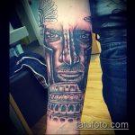 фото тату гладиатор №512 - крутой вариант рисунка, который легко можно использовать для доработки и нанесения как тату гладиатор с цепью