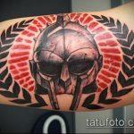 фото тату гладиатор №136 - крутой вариант рисунка, который хорошо можно использовать для преобразования и нанесения как тату гладиатор на спине