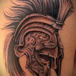 фото тату гладиатор №802 - достойный вариант рисунка, который удачно можно использовать для доработки и нанесения как тату гладиатор и ангел