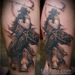 фото тату гладиатор №268 - эксклюзивный вариант рисунка, который успешно можно использовать для доработки и нанесения как тату гладиатор рукав