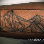 фото тату горы №294 - достойный вариант рисунка, который хорошо можно использовать для доработки и нанесения как тату горы вертолет