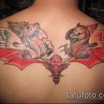фото тату грифон №487 - интересный вариант рисунка, который легко можно использовать для доработки и нанесения как тату грифон на запястье