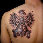 фото тату грифон №742 - эксклюзивный вариант рисунка, который хорошо можно использовать для переделки и нанесения как тату грифон птица