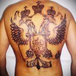 фото тату грифон №724 - уникальный вариант рисунка, который легко можно использовать для доработки и нанесения как тату грифон скифы