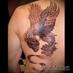 фото тату грифон №147 - эксклюзивный вариант рисунка, который хорошо можно использовать для преобразования и нанесения как тату грифон на запястье