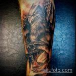 фото тату грифон №115 - классный вариант рисунка, который хорошо можно использовать для переделки и нанесения как тату грифон на всю спину