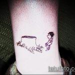 фото тату дерево №969 - классный вариант рисунка, который легко можно использовать для переделки и нанесения как дерево сакуры тату