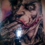 фото тату джокер №708 - уникальный вариант рисунка, который легко можно использовать для доработки и нанесения как тату джокер на руку