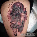 фото тату козел №161 - достойный вариант рисунка, который удачно можно использовать для переработки и нанесения как тату череп козла