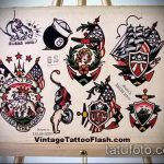 эскиз тату восемь №929 - интересный вариант рисунка, который легко можно использовать для доработки и нанесения как tattoo 8 ball designs
