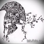 эскиз тату гладиатор №375 - интересный вариант рисунка, который успешно можно использовать для переделки и нанесения как тату гладиатора на икре
