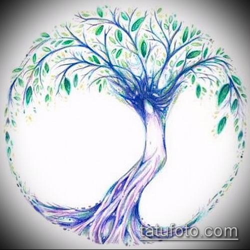 Тату дерево жизни эскизы