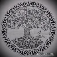 Эскизы тату дерево