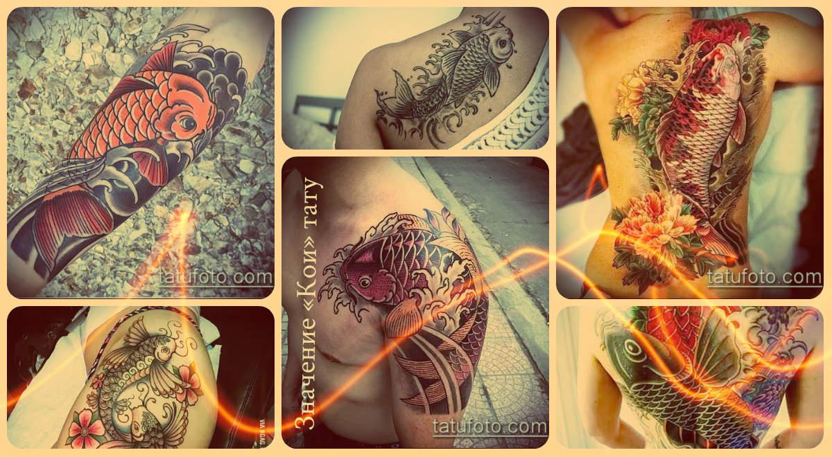 Значение «Кои» тату - интересные примеры готовых тату на фото